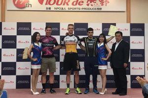 Szymon Sajnok liderem Tour de Kumano 2017. Wygrał prolog - czasówkę wieloetapowego wyścigu w Japonii