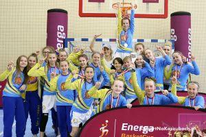 SP nr 5 Kartuzy w finale Energa Basket Cup. Dziewczęta mają już co najmniej srebro i szanse na złoto