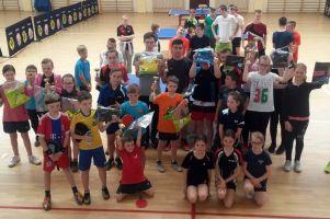 Młodzi pingpongiści z powiatu zagrali w X Kaszubskim Turnieju Tenisa Stołowego im. Andrzeja Grubby
