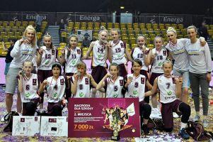 Energa Basket Cup 2017. SP nr 5 Kartuzy zdobyła srebrne medale, przegrała w finale z Żyrardowem