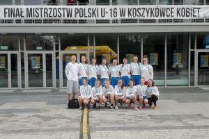 Mistrzostwa Polski Kobiet U16 w Koszykówce w Tarnowie. UKS Bat Kartuzy ósmym zespołem w kraju