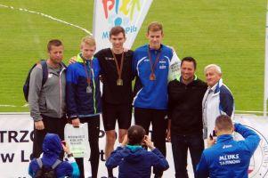 Pięć medali lekkoatletów GKS-u Żukowo na Mistrzostwach Polski LZS 2017 w Pile