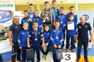 Cartusia Kartuzy wygrała zapaśniczy turniej Międzynarodowej Ligi Bałtyckiej o Puchar Burmistrza Lubawy