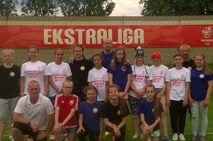 Olimpico Malbork z piłkarkami z Sierakowic zajęło ósme miejsce w Klubowych Mistrzostwach Polski Kobiet U13