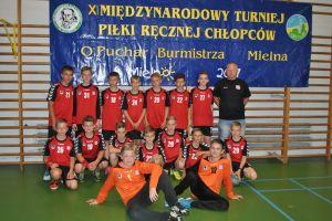GKS Żukowo wygrał XI Międzynarodowy Turniej Piłki Ręcznej Chłopców w Mielnie. UKS Bat Kartuzy siódmy