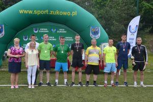 Rodzinny Turniej Piłki Nożnej w Żukowie 2017. Szutenbergowie najlepsi wśród dziesięciu zespołów