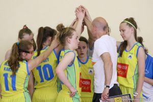 Gimnazjum nr 2 Kartuzy trzecie w Wojewódzkiej Gimnazjadzie w Koszykówce Dziewcząt 2016