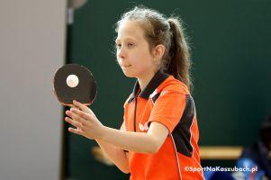 Międzyszkolny Turniej Tenisa Stołowego w Borczu. Zagrało prawie 30 zawodników z powiatu kartuskiego i Kościerzyny