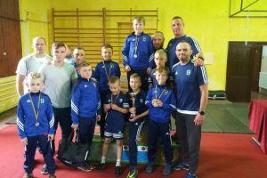 Siedmiu zapaśników Cartusii Kartuzy na podium Pucharu Żuław w Minizapasach w Nowym Dworze Gdańskim