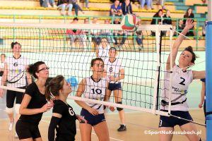Przodkowska Liga Piłki Siatkowej Kobiet. Zdjęcia z finałów II ligi Pink Panthers - Power Team i So Sorry - Blackteam