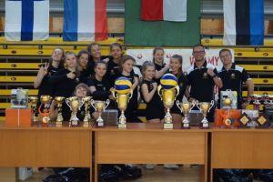 Wieżyca 2011 Stężyca wicemistrzem XIX Międzynarodowego Turniej Piłki Siatkowej Dziewcząt w Starogardzie Gdańskim