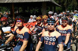 Kolarska grupa Good Ride z Pomorza na podium słynnego wyścigu Beskidy MTB Trophy