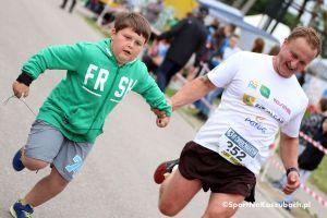 Ćwierćmaraton Szwajcarii Kaszubskiej 2017 w Przodkowie - zdjęcia z mety biegu