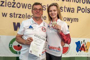 Diana Malotka -Trzebiatowska medalistką Mistrzostw Polski Juniorów w Strzelectwie we Wrocławiu