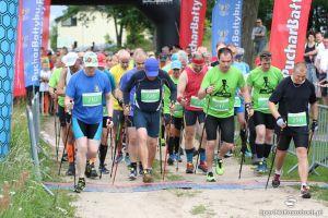 Pucharu Bałtyku w Nordic Walking w Małkowie 2017. W niedziele marsz z kijkami na 5 i 10 km