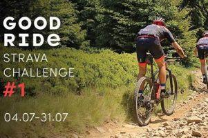 Good Ride zaprasza do udziału w Strava Challenge #1. Pokonaj trasę w najkrótszym czasie i zdobądź nagrody