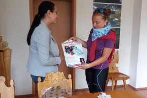 Wioleta Krause już w Zakopanem. W 14 dni pokonała na rowerze 1442 km dla Mielnki
