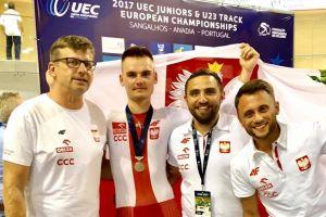 Damian Sławek młodzieżowym wicemistrzem Europy. Kolarz Cartusii Kartuzy był drugi w wyścigu eliminacyjnym
