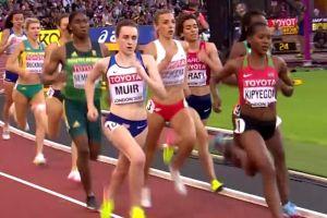 Angelika Cichocka w świetnej formie na mistrzostwach świata. W poniedziałek pobiegnie w finale biegu na 1500 metrów