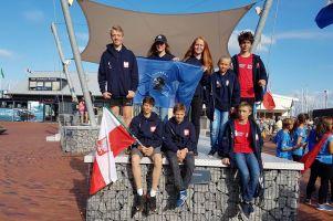 Bartłomiej Szlija i Marcel Kurjańczyk z Lamelki żeglują w Mistrzostwa Świata w Klasie Cadet w Holandii