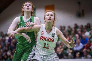 Łucja Grzenkowicz, wychowanka Batu, na podium Mistrzostw Europy U18 w Koszykówce Dywizji B