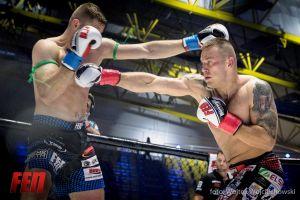 Artur Bizewski vs Mateusz Duczmal - zdjęcia z walki na gali FEN 18 Summer Edition w Koszalinie