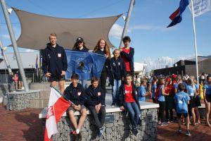 Żeglarze Lamelki już po Mistrzostwach Świata Klasy Cadet w Holandii. Teraz płyną w Ogólnopolskiej Olimpiadzie Młodzieży 2017