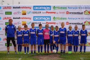 Młodzi piłkarze Radunii Stężyca na piątym miejscu w turnieju Rotary Cup 2017 w Białymstoku