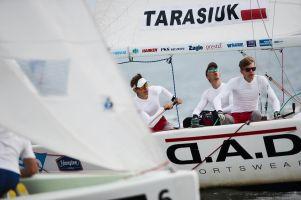 Igor Tarasiuk i jego załoga na siódmym miejscu w Młodzieżowych Mistrzostwach Europy w Match Racingu w Świnoujściu