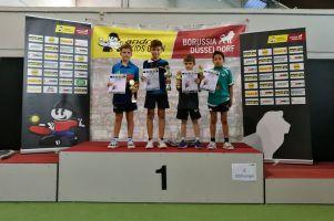 Samuel Michna dwukrotnie na podium Andro Kids w Dusseldorfie, największego międzynarodowego turnieju w Europie