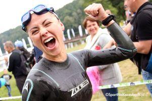 Zdjęcia z otwarcia i pływania podczas triathlonu w Przechlewie