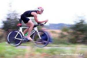 Etap rowerowy na Prime Food Triathlon Przechlewo