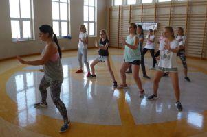 Gimnazjalistki z Żukowa uczyły się tańca nowoczesnego w ramach projektu