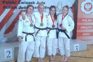 Dwa złota mistrzostw Polski juniorów dla żukowskich judoczek