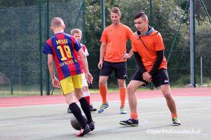 Turniej Trójek Piłkarskich w Grzybnie - zdjęcia z nietypowego turnieju na orliku