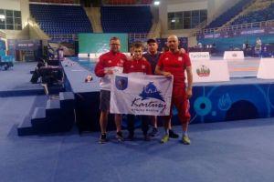 Aleks Mielewczyk z Cartusii Kartuzy jedenasty na Mistrzostwach Świata Kadetów w Zapasach w Atenach