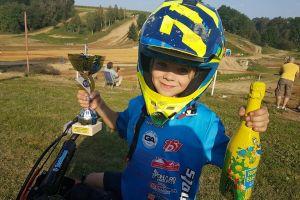 Dawid Zaremba znów startuje zagranicą. Jedzie w motocrossowych zawodach juniorów w Czechach