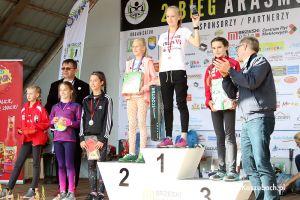 Bieg Arasmusa 2017 - zdjęcia z biegu rodzinnego na 1 km oraz dekoracji zwycięzców biegów dzieci i młodzieży