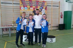 Trzy tytuły Rebelii na Mistrzostwach Polski Kadetów w Kick - boxingu. Złota Nikoli Zaborowskiej, Armina Wilczewskiego i Marcina Tredera