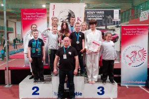 Jedenaście medali i czwarte miejsce drużynowo judoków GKS-u Żukowo w międzynarodowym turnieju w Słupsku
