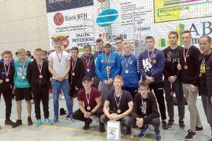 GKS Cartusia Kartuzy na podium ogólnopolskiego turnieju Brodnica Handball Cup 2017