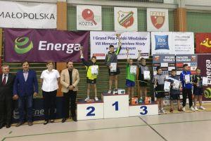 Życiowy sukces Dawida Michny - zawodnik Lisa Sierakowice drugi w I Grand Prix Polski Młodzików w Krakowie