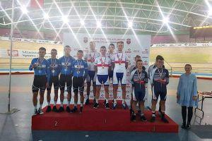 Są pierwsze medale dla kolarzy Cartusii Kartuzy w torowych mistrzostwach Polski 2017