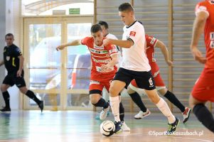 Unisław Team - Futsal Club Kartuzy. Kartuzianie zdołali odwrócić losy meczu i odnieść drugie zwycięstwo