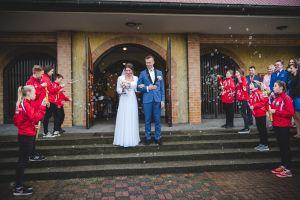 Monika Czapiewska i Łukasz Kujawski, czyli Kaszubska Para Biegowa, zostali małżeństwem