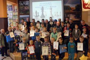 XVI Mistrzostwa Powiatu Kartuskiego w Szachach w Somoninie. Zagrali zawodnicy od młodzików po seniorów