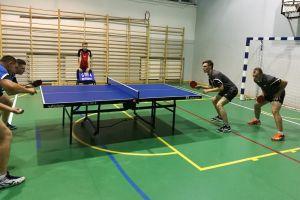 Trzecie zwycięstwo pingpongistów Lisa Sierakowice w III lidze - pokonali na wyjeździe Start Wejherowo