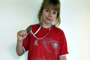 Angelika Liczberska z Cartusii Kartuzy na podium Młodzieżowych Mistrzostw Polski w Zapasach Kobiet 2017