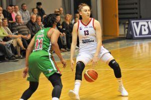 Ania Makurat powołana do reprezentacji Polski seniorek. Świetnie rozpoczęła debiutancki sezon w Basket Lidze Kobiet