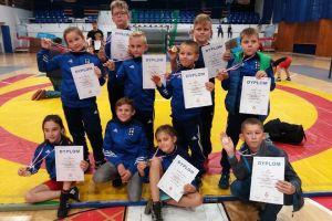 Dziesięć medali Moreny Wegi Żukowo, dziewięć Cartusii Kartuzy w zapaśniczych zawodach w Elblągu